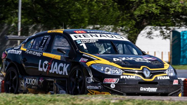 Ardusso-Altuna con la pole de los 200 km de Buenos Aires.