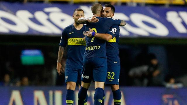 Boca lo dio vuelta y goleó a Tigre en la Bombonera