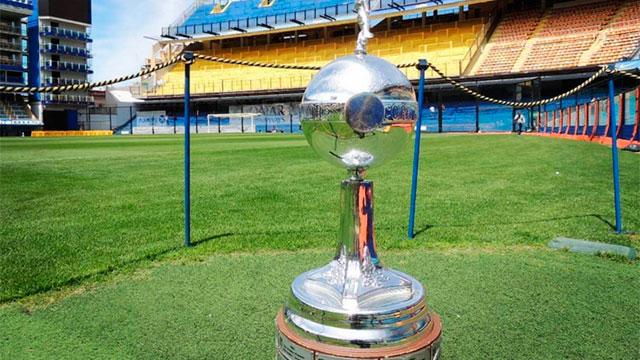La Copa Libertadores llegó a la Bombonera.