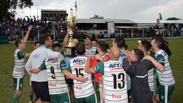 Unión Agrarios Cerrito logró el bicampeonato. (Sitio Oficial UAC)