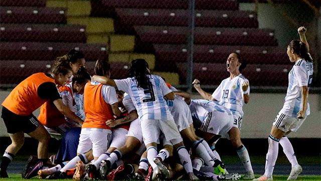Fútbol Femenino: Con la entrerriana Yael oviedo, Argentina clasificó al Mundial de Francia
