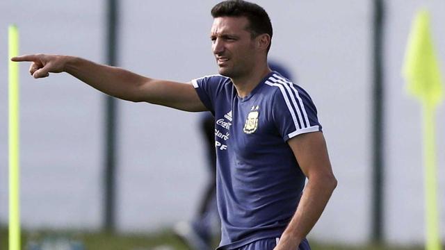 Scaloni presentará la lista preliminar para la Copa América.