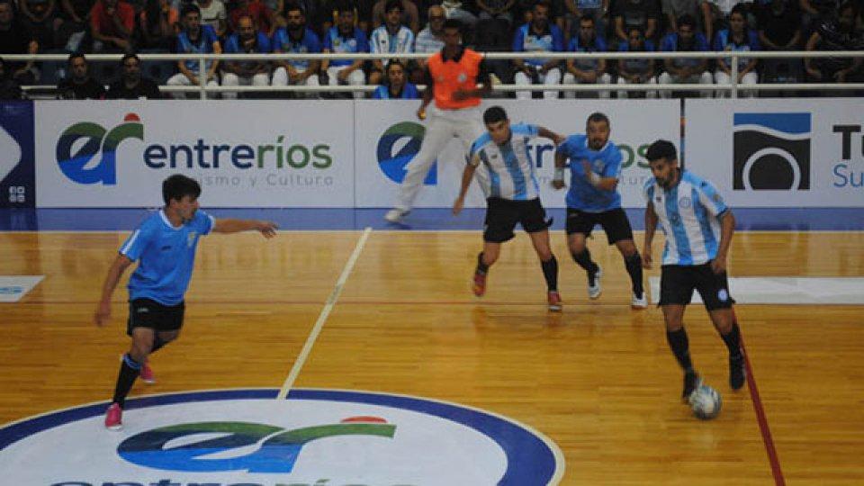 Argentina superó a Uruguay en Paraná. (Foto: La Cábala)