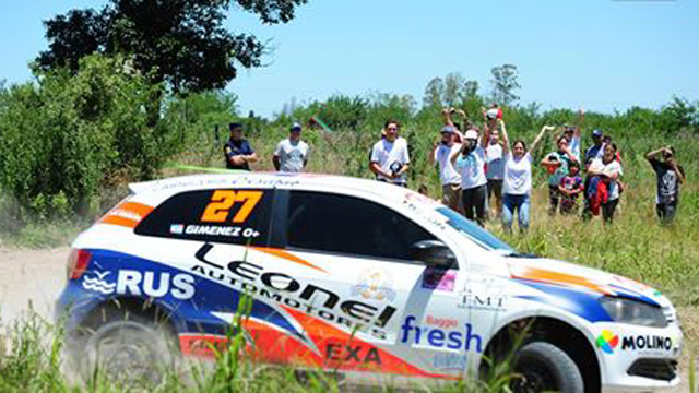 En Nogoyá se disputó el Rally Entrerriano.