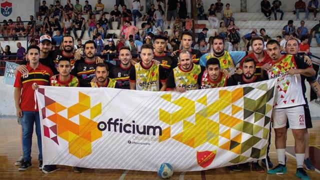 Español es el campeón del futsal paranaense.