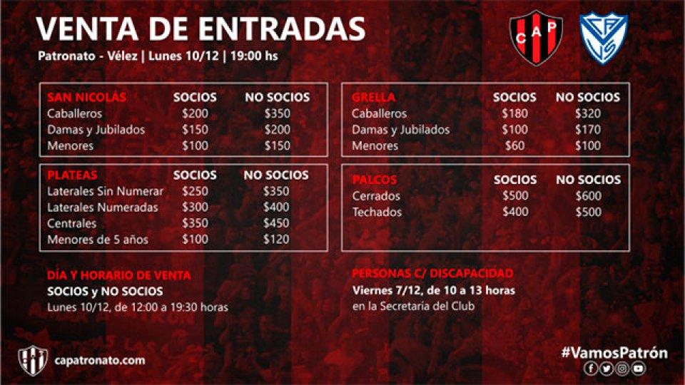 Las entradas se podrán adquirir el mismo día del partido.