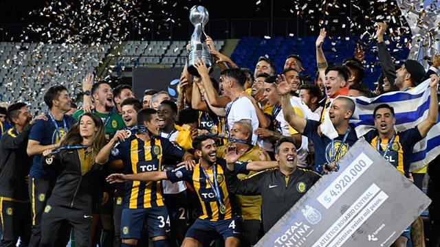 Central le ganó por penales a Gimnasia y es el campeón de la Copa Argentina.