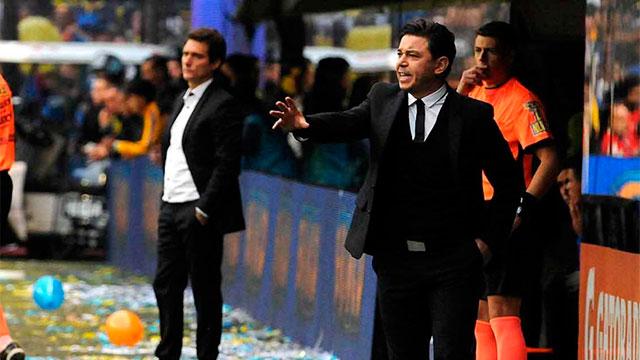 Gallardo y Guillermo juegan al misterio: Definirán los equipos minutos antes del partido