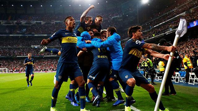 Boca arrancó ganando pero no lo pudo sostener.