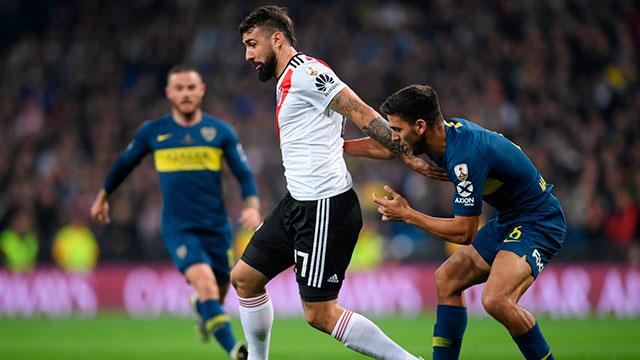 River y Boca empatan en la Final de la Copa Libertadores y van al alargue