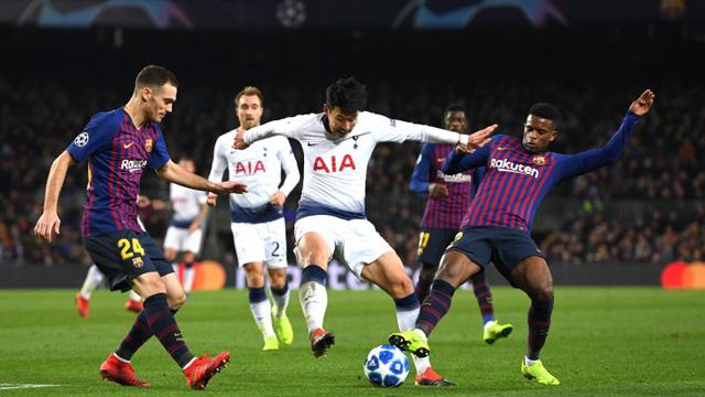 Barcelona igualó ante Tottenham y ambos pasaron a Octavos de la Champions League