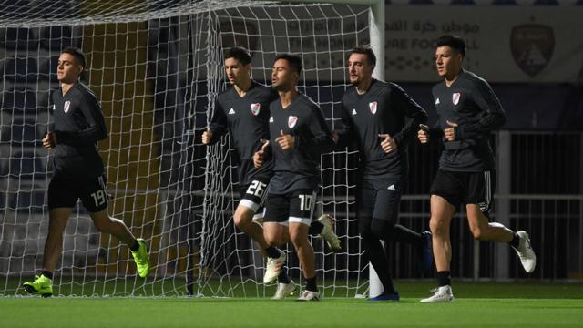 Mundial de Clubes: River tuvo su primer entrenamiento en Emiratos Árabes