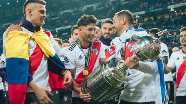 Milton Casco: de Atlético María Grande a campeón de América con River