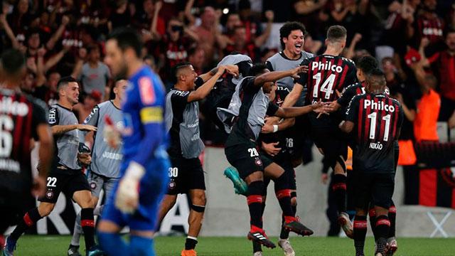 Atlético Paranaense ganó la Sudamericana y será el rival de River en la Recopa