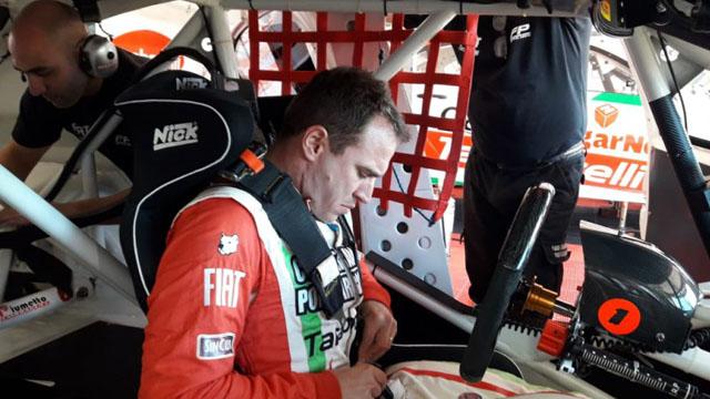 Werner ya piensa en el 2019 y empezó a ajustar detalles en su Ford.