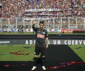 Leandro Romagnoli tuvo su despedida del fútbol profesional