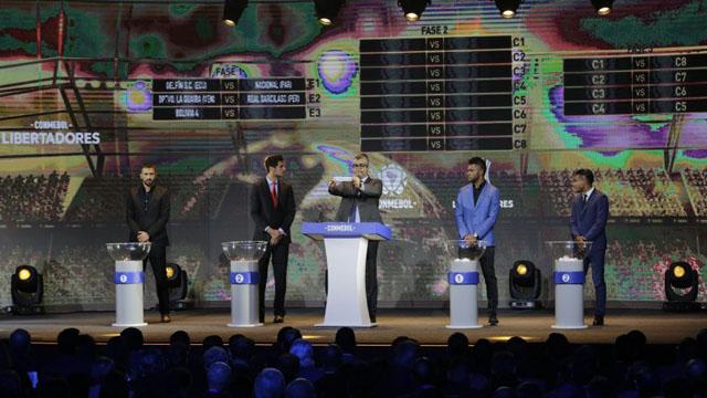 Se sorteó la Fase de Grupos de la Copa Libertadores 2019