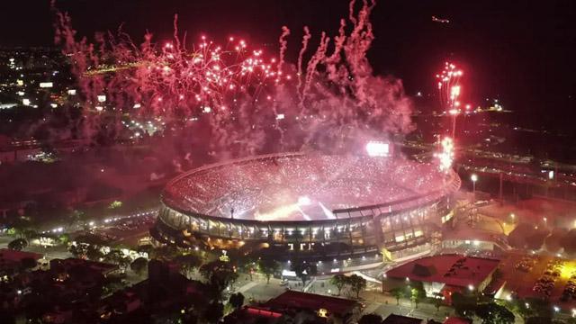 Conmebol sancionó a River días antes de la revancha con Boca por la Copa Libertadores