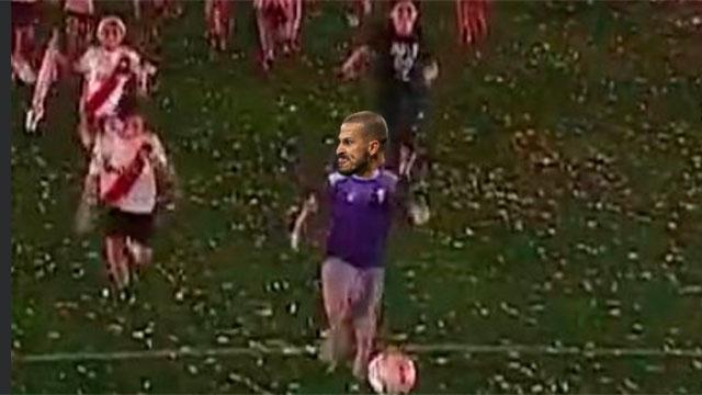 Los mejores memes de la recreación del gol del Pity Martínez.