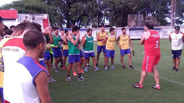 El Rojiblanco midió fuerzas con el equipo de Primera División de Patronato.