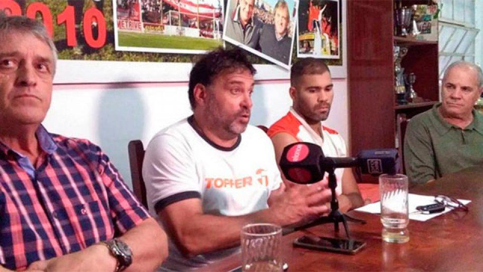 Pancaldo habló tras la eliminación de la Copa Argentina.