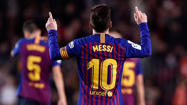 Messi y Barcelona siguen por la senda victoriosa.