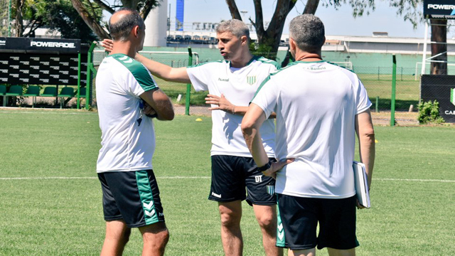 Valdanito se puso al frente del Taladro en su primera experiencia en argentina.