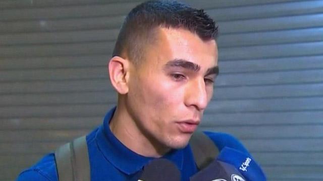 El paraguayo llegó para sumarse al equipo de Alfaro.