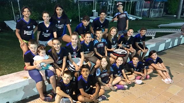 La delegación del AEC se alzó con el segundo lugar en el torneo juvenil.
