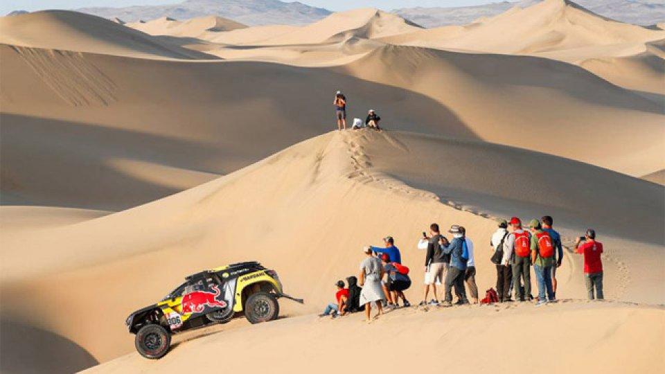 El Dakar desarrolla su edición en Perú.