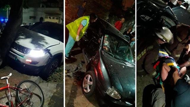 Jugador de Independiente chocó con su auto una mujer embarazada.