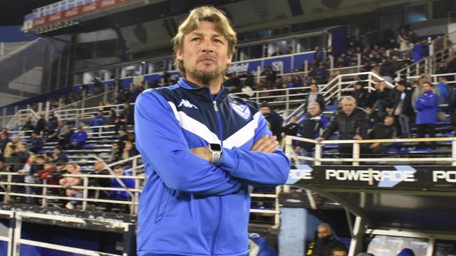 El Gringo habló en la previa del partido con Boca.