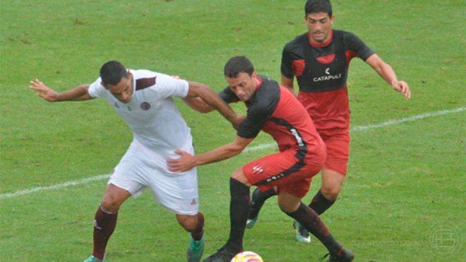Patronato igualó en su segundo amistoso de preparación. (Foto: @clublanus)