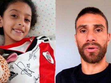 El gran gesto de Ponzio con Morena, una nena de 7 años apuñalada en un robo