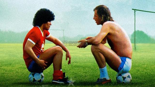 """""""Que Menotti esté comandando la AFA me da un gran placer"""", escribió Diego."""