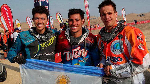 Nicolás Cavigliasso se consagró campeón del Rally Dakar en cuatris.