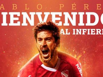 Independiente le dio la bienvenida a Pablo Pérez