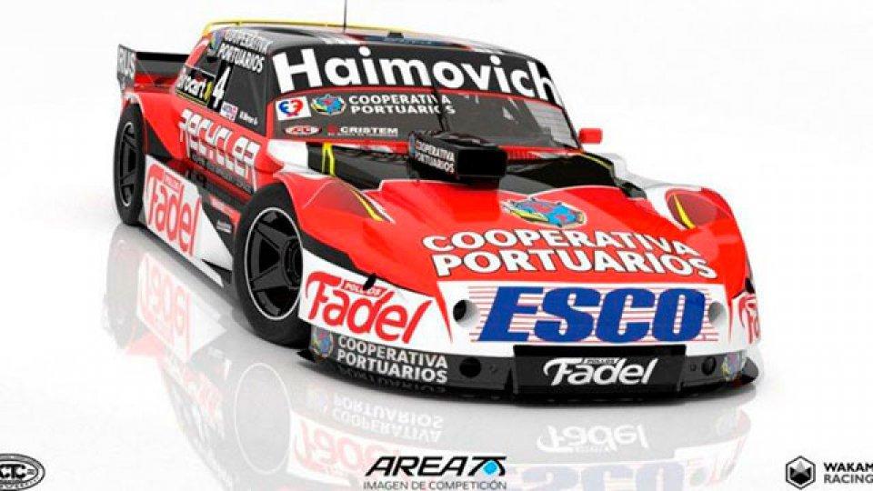 El nuevo diseño del auto de Mariano Werner para el Turismo Carretera.