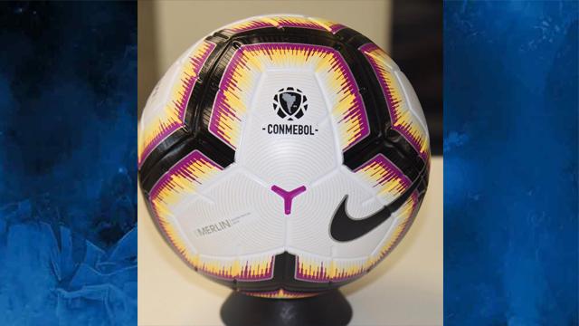 188331d363c90 La Conmebol presentó oficialmente la pelota para la Copa ...