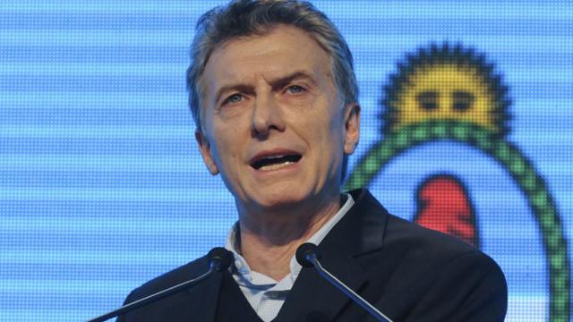 """""""Mantengan los esfuerzos en la búsqueda"""", fue el pedido de Mauricio Macri."""