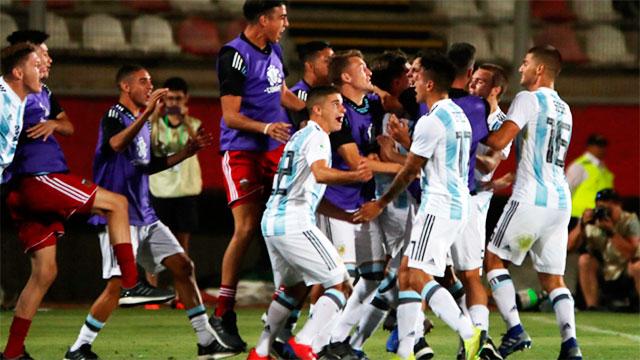 Argentina va por la clasificación al hexagonal.
