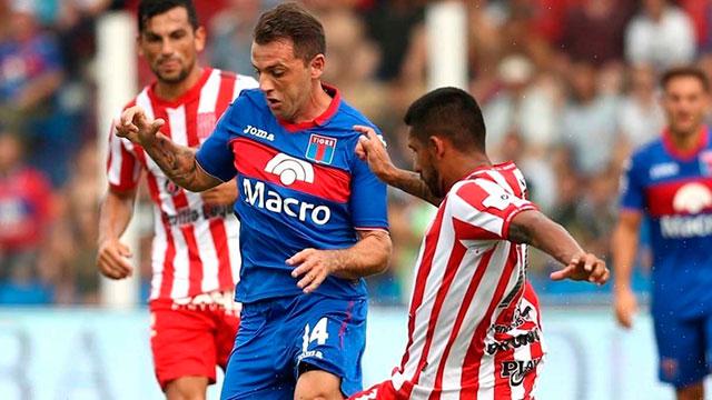 Tigre logró un agónico empate ante San Martín por la permanencia.