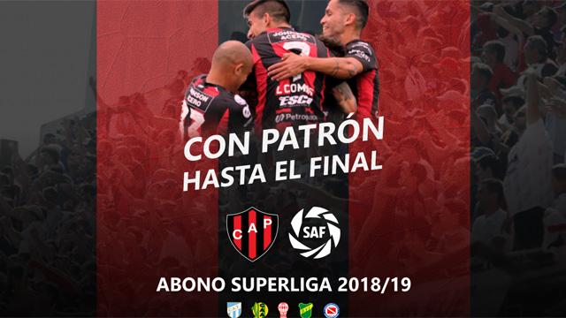 Patronato lanzó una promoción para alentar en los últimos cotejos de local.