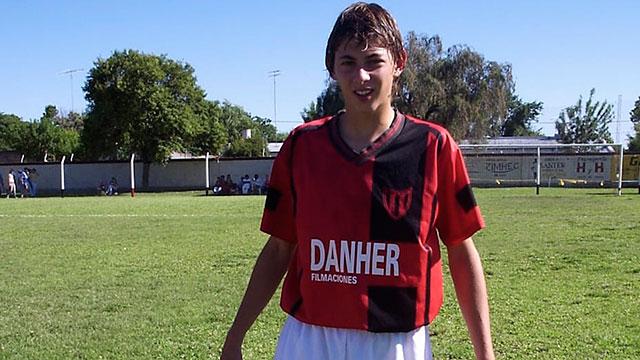 Cuando Sala jugaba en San Martín de Progreso.