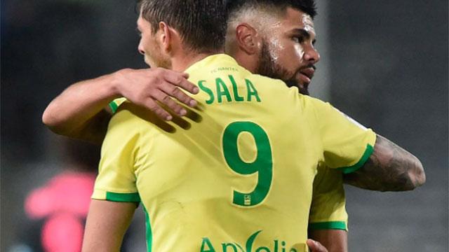 El Nantes retira la camiseta número 9 en honor a Emiliano Sala.