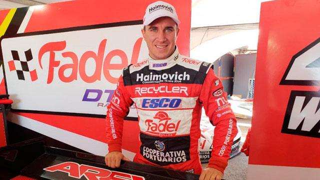 Werner se quedó con el primer entrenamiento en Viedma. (Foto: Campeones)