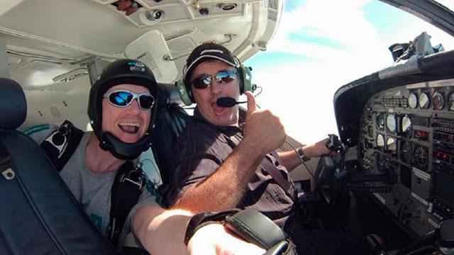 La familia del piloto del avión de Emiliano Sala recauda fondos.