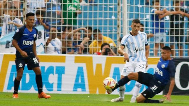 Atlético y Talleres empataron en Tucumán.