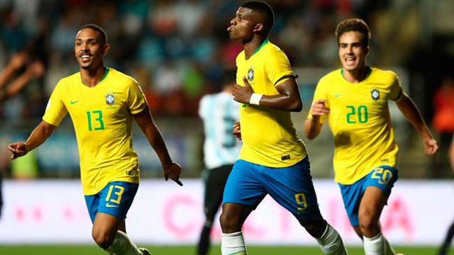 El equipo de Batista perdió uno a cero frente a Brasil.