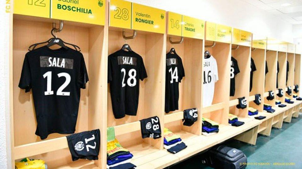 La emocionante despedida de Nantes y sus hinchas a Emiliano Sala.